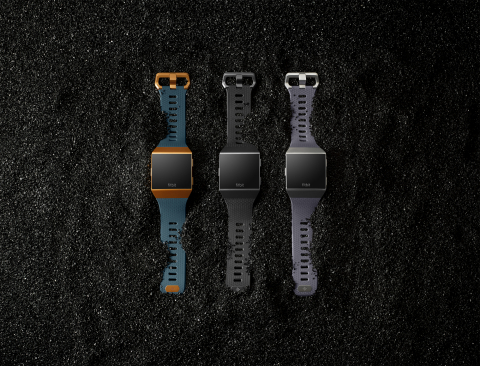 Fitbit launches Fitbit Ionic, the ultimate health and fitness smartwatch offering a highly personalized experience not previously seen in other smartwatches. (Photo: Business Wire)