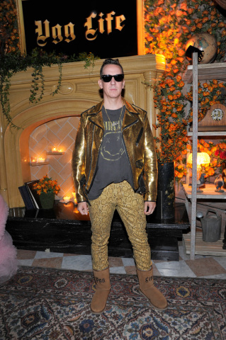 Jeremy Scott at the UGG x Jeremy Scott Collaboration Launch Event (Photo credit: Getty