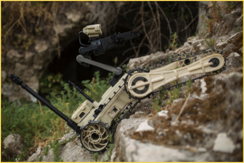 Micro Tactical Ground Robot (MTGR) (Photo: Business Wire)