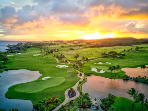Aerial view of Kukui'ula (Photo: Business Wire)