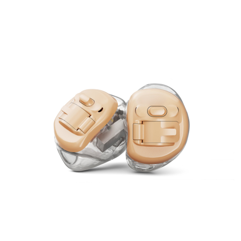 Phonak's Virto B, the world's first hearing aid with Biometric Calibration, joins Virto B-Titanium as a highly customizable hearing aid that provides a comfortable fit. (Photo: Business Wire)
