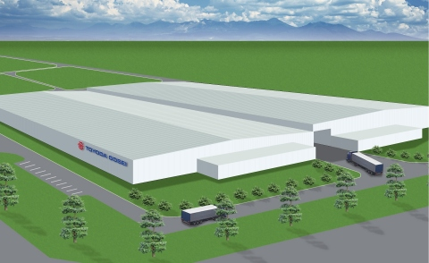 Rendering of New Plant (Graphic: Business Wire)