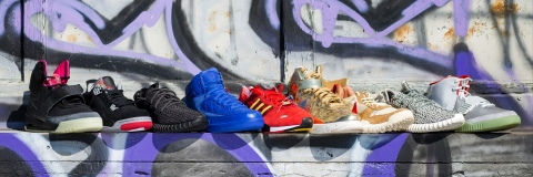 Get in the game at Abell Auction Company's sale of 200-plus pairs of deadstock, limited-edition and collaboration sneakers on Sept. 12 in Los Angeles. (Photo: Business Wire)
