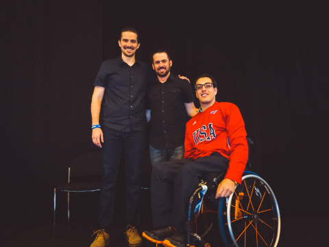 Octapharma sponsored the National Hemophilia Foundation's Annual Meeting and provided a patient symposium sharing the stories of (from left) Patrick James Lynch, Chris Bombardier and Seth Rojhani. (Photo: Business Wire)
