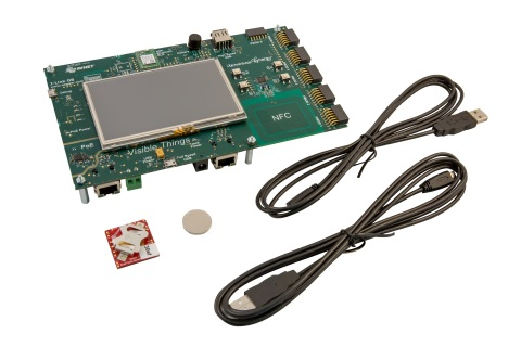 Avnet's SK002 Visible Things Industrial IoT Platform featuring TD next TDM114 miniature video camera module. (Photo: Business Wire)