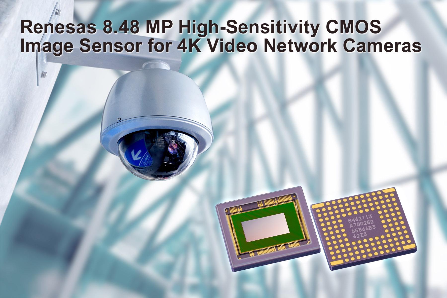 Renesas Electronics Delivers 8.48 MP CMOS Image Sensor for 4K ...