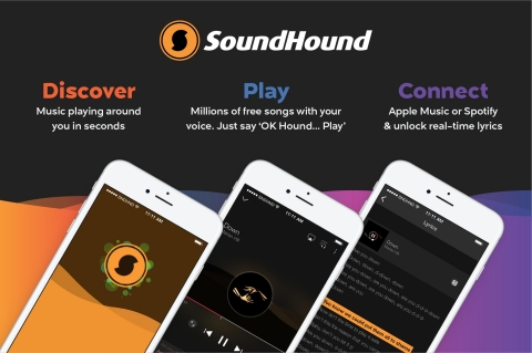 Your favorite music discovery and recognition app has an all new, streamlined look! (Graphic: Business Wire)