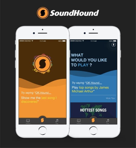 SoundHound 8 takes the best aspects of the original music search and discovery app, and makes the experience more powerful and easier to use. (Graphic: Business Wire)