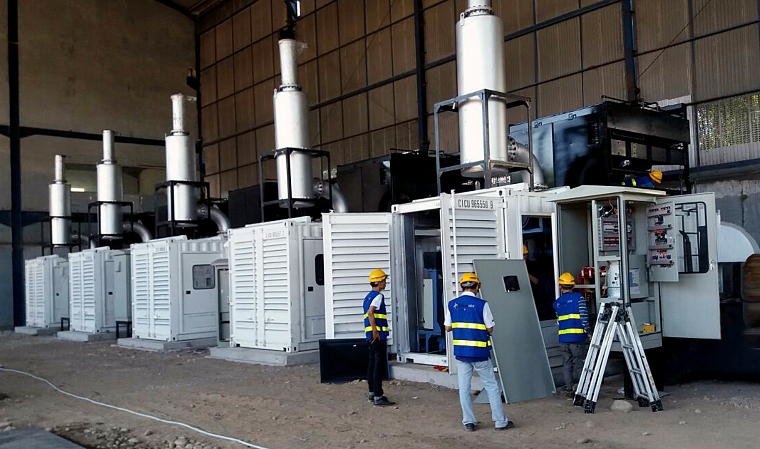 MHIET Receives Order for 147 Diesel Gensets to Serve as Stand ...