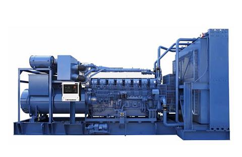 Diesel Engine Generator Set MGS1500C (Photo: Business Wire)