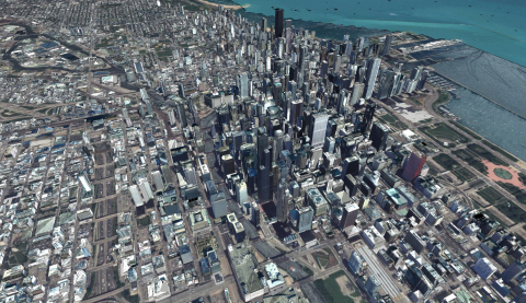 AW3D Metro (Chicago, US) (Graphic: Business Wire)