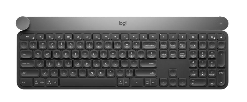 4eb5b98522e Logitech CRAFT Advanced Keyboard with Creative Input Dial Sets New ...