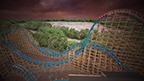 (Animation) Six Flags Over Georgia—the Thrill Capital of the South just outside of Atlanta—announces the all-new Twisted Cyclone roller coaster will arrive in 2018. Twisted Cyclone is a combination of a classic wooden structure with a modern steel track for a smoother, sleeker and more thrilling ride than ever before. The coaster will feature three head-over-heels inversions, 10 airtime moments, a 75-degree initial drop and a weightless 360-degree zero gravity roll, among other features. Twisted Cyclone is set to debut in the spring of 2018.