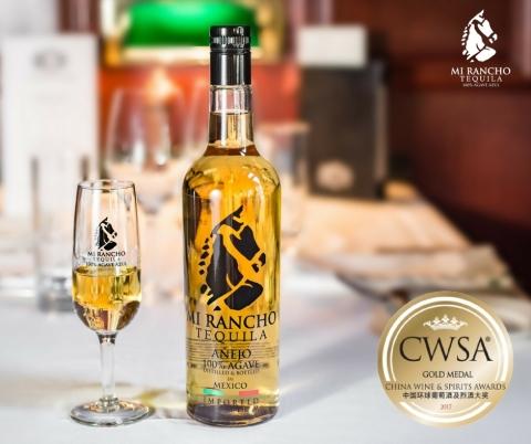 Mi Rancho Añejo 100% Agave Premium Tequila (Photo: Business Wire)