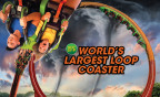 Coming to Six Flags Great America in 2018, the world's largest loop coaster! (Photo: Business Wire)