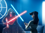 Star Wars(TM): Jedi Challenges, a new smartphone-powered augmented reality experience (Photo: Business Wire)