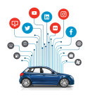 The Technology and Telematics Forum V5.0 at AAPEX 2017 will spotlight cyber security, V2V communication, vehicle data and OE technology. (Graphic: Business Wire)