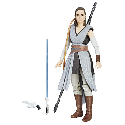 Star Wars The Black Series 6-Inch Figure - Rey (Photo: Business Wire)