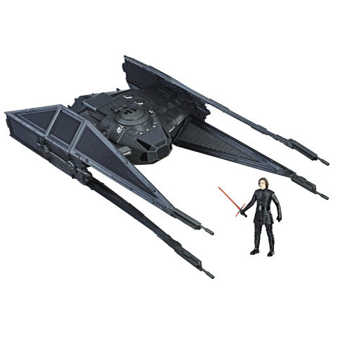 Star Wars: The Last Jedi 3.75-Inch TIE Silencer Vehicle (Photo: Business Wire)