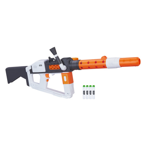 Star Wars: The Last Jedi Nerf Glowstrike First Order Stormtrooper Deluxe Blaster (Photo: Business Wire)