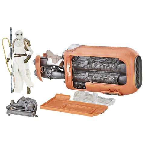 Star Wars The Black Series Deluxe Rey's Speeder (Jakku) Vehicle (Photo: Business Wire)