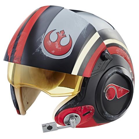 Star Wars The Black Series Poe Dameron Electronic Helmet (Photo: Business Wire)