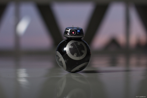 BB-9E Droid by Sphero, one of hundreds of new products celebrating Star Wars: The Last Jedi launching around the world over the Force Friday II weekend. New Star Wars: The Last Jedi character BB-9E was revealed by fans at midnight openings in Sydney, AUS where the global celebration kicked off. (Photo: Business Wire)