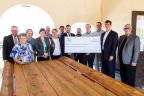 Tucumcari Federal Savings and Loan Association and FHLB Dallas partnered to award $16,000 in Partnership Grant Program funds to Tucumcari MainStreet Corporation to revitalize the Tucumcari, New Mexico, downtown area. (Photo: Business Wire)
