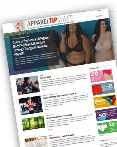 HanesBrands' Apparel Tip Sheet, an online resource for journalists who cover apparel, offers a quart ...