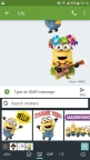 Swyft Media's sticker pack for Illumination's Despicable Me 3 for Gboard for Android (Photo: Business Wire)