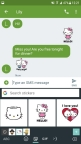 Swyft Media's sticker pack for Hello Kitty for Gboard for Android (Photo: Business Wire)