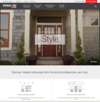 The new www.thermatru.com helps homeowners identify, visualize and select the perfect entryway. (Photo: Business Wire)