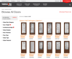 Therma-Tru's Design Your Door intuitively guides homeowners through the door selection process. (Photo: Business Wire)