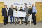 The Estancia Valley (New Mexico) Foundation for Economic Education and Development was awarded $10,000 in Partnership Grant Program (PGP) funds from Wells Fargo and the Federal Home Loan Bank of Dallas. The Foundation will use the funds for education and skills-training collaboration for small businesses and government entities. (Photo: Business Wire)