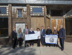MainStreet de Las Vegas, an economic development nonprofit in Las Vegas, New Mexico, was awarded $8,500 in Partnership Grant Program (PGP) funds from Southwest Capital Bank and the Federal Home Loan Bank of Dallas. The nonprofit will use the funds for permit fees and to support renovation of the Castaneda Hotel and the Rawlins Building, both of which date to 1898. (Photo: Business Wire)