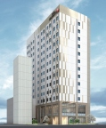 Rendition of Hotel JAL City Sapporo Nakajima Park (Graphic: Business Wire)
