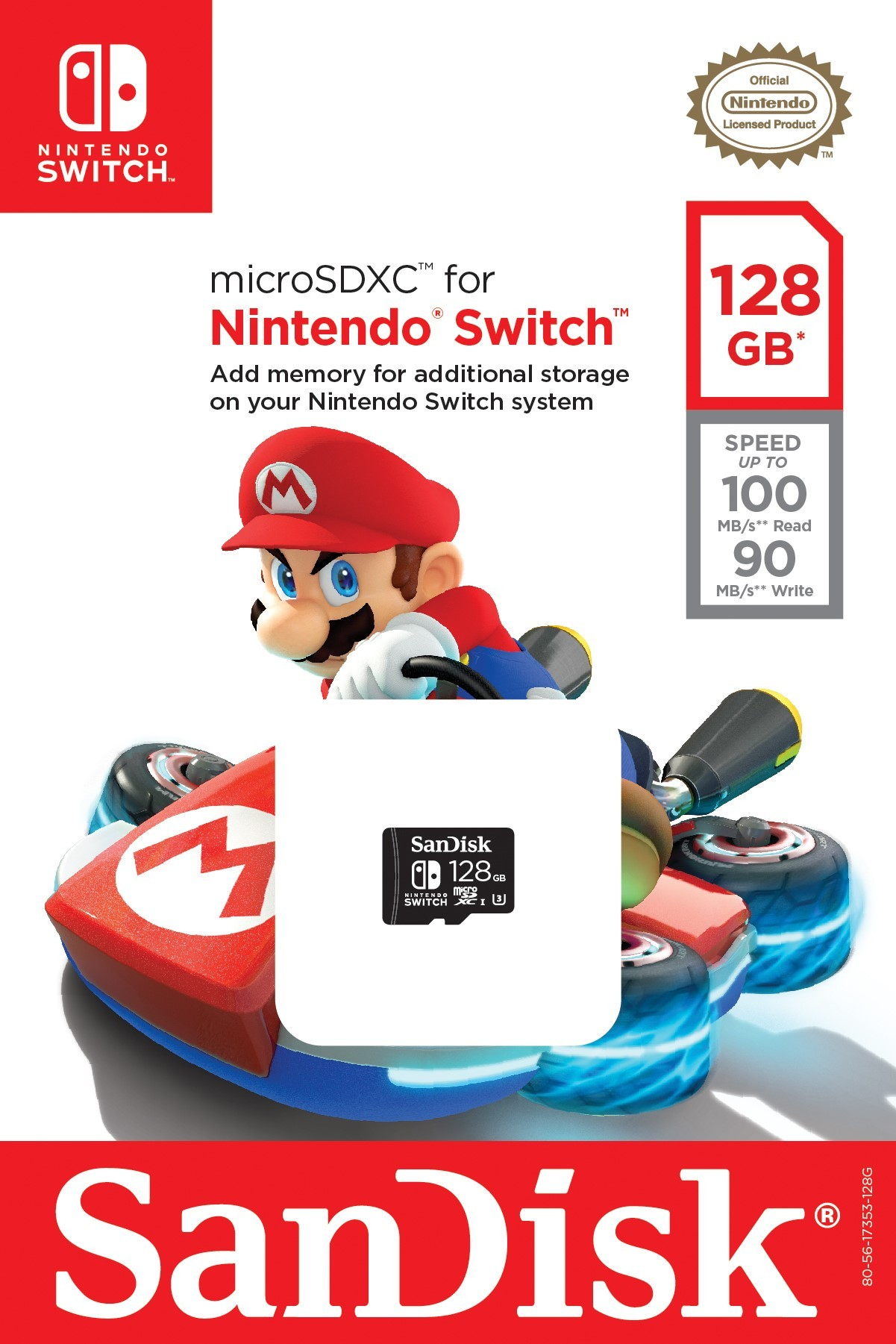 Nintendo Partners With Western Digital To Create Licensed Sandisk Microsd Ultra 80 Mbps 64 Gb Switch Memory Cards Business Wire