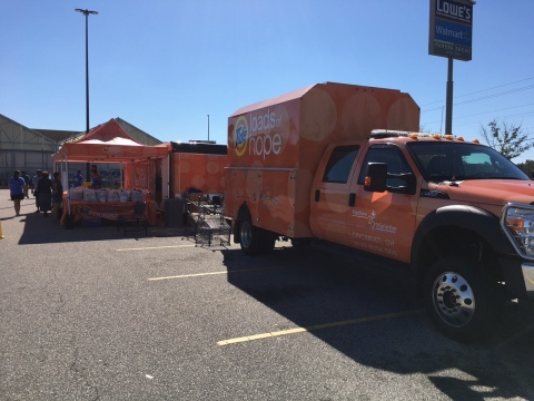 Tide Loads of Hope Mobile Laundry Unit (Photo: Business Wire)