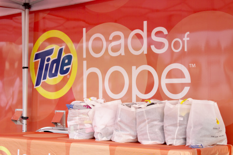 Tide Loads of Hope Laundry Services (Photo: Business Wire)