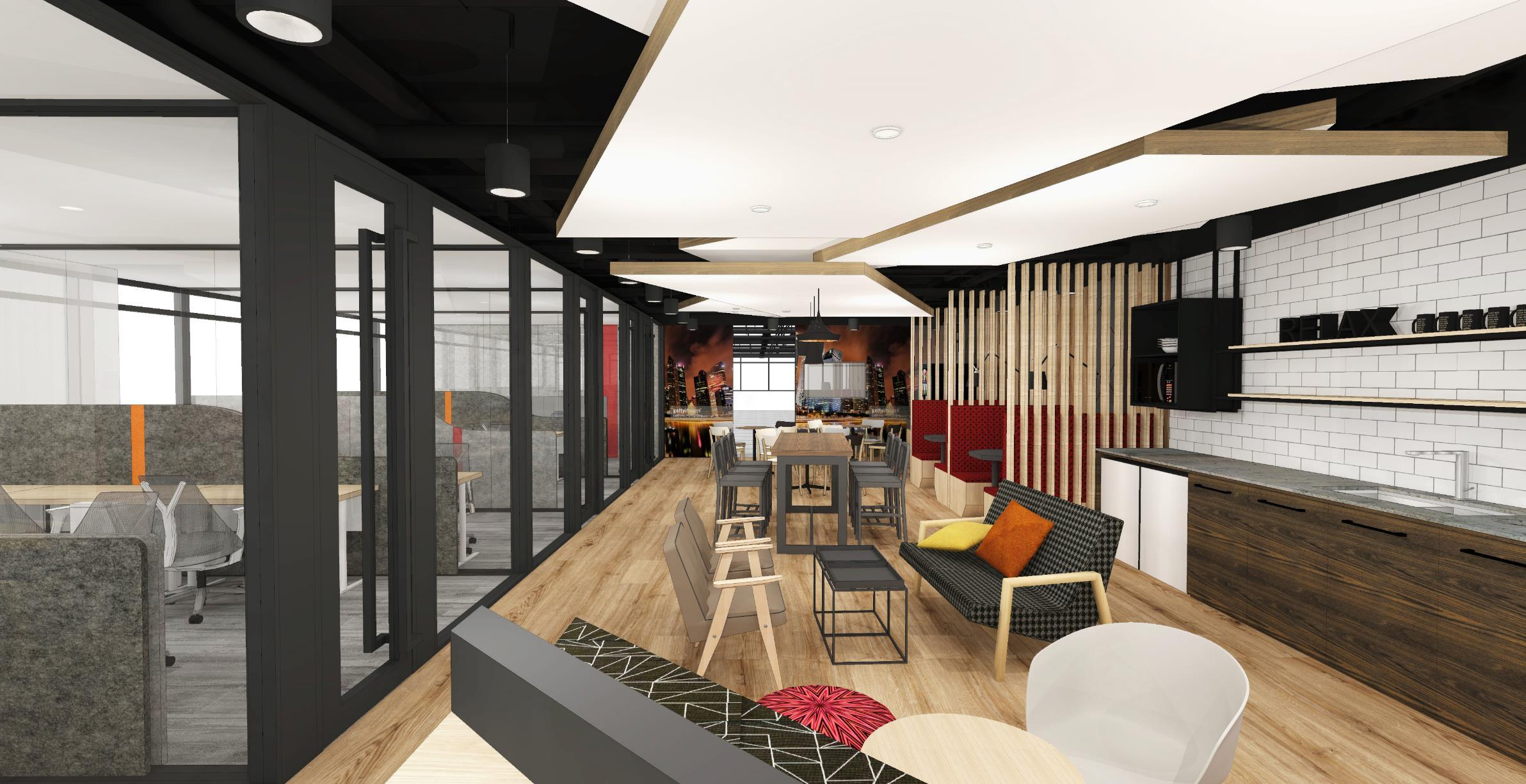 Compass offices expands and inspires with new co working for Space and co