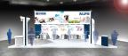 Alps Electric World IoT Expo Booth Image (Graphic: Business Wire)