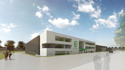 Model view of the new Aloe Vera production site of LR Health & Beauty. Copyright: Assmann Group/LR