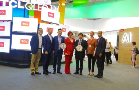 TCL wins prestigious 2017 IFA Product Technical Innovation Awards (Photo: Business Wire)