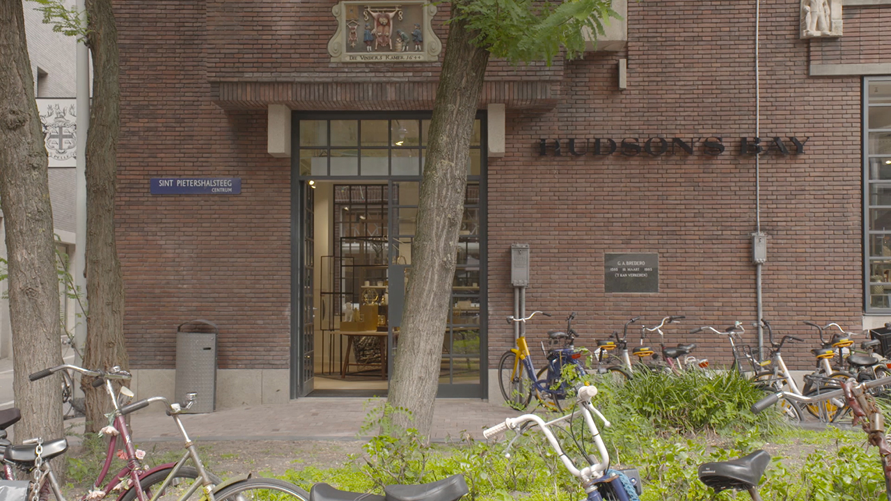 Hudson's Bay Brings a New Shopping Experience to the Netherlands