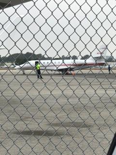 RCII Aircraft, John Wayne Orange County Airport - August 8, 2017. (Photo: Business Wire)
