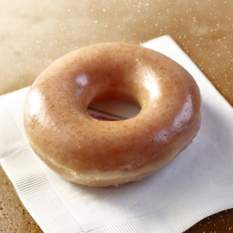 Krispy Kreme Doughnuts announced the Pumpkin Spice Original Glazed Doughnut will be available on Friday, Sept. 8 at participating U.S. shops. (Photo: Business Wire)