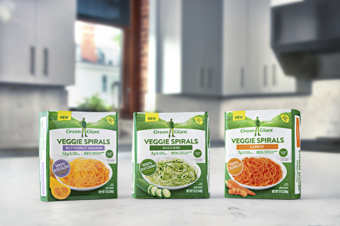 Green Giant® Refreshes the Freezer with New Green Giant Veggie Spirals™ (Photo: Business Wire)
