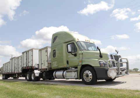 R&R Trucking transports specialty cargo requiring unique training and security clearances and is a leading specialized transporter of defense and commercial AA&E (arms, ammunition and explosives) cargo. (Photo: Business Wire)