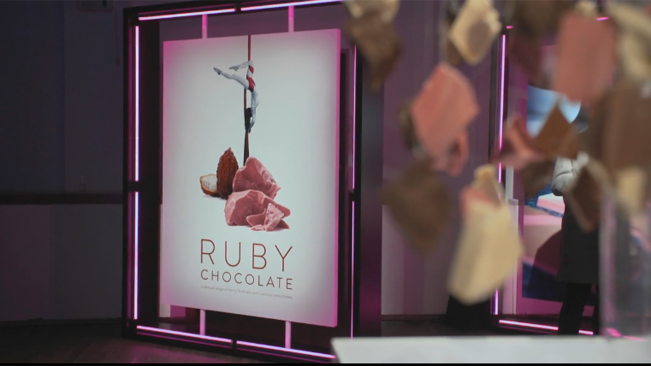 Barry Callebaut Ruby Chocolate Launch