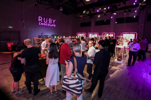 Barry Callebaut Ruby Chocolate Launch Event in Shanghai (Photo: Business Wire)